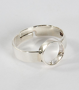 SILBERFINGERRING Art Deco 925 verstellbar