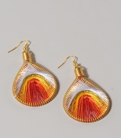 OHRRINGE Morgenlicht drop earrings not bombs L7cm