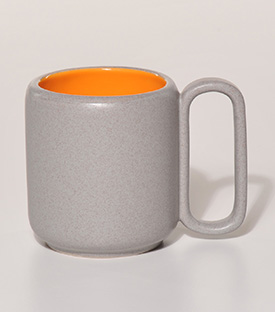 TASSE M essential orange dm7,5xH9cm
