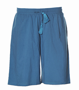 SHORTS petrol 100% BW Voile 80g