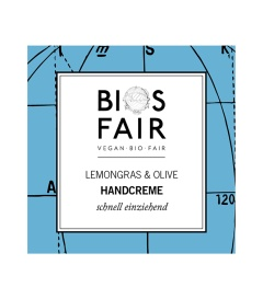 BIOSFAIR SACHET Handcreme Lemongrass & Olive, 3ml