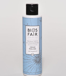 BIOSFAIR Cremepeeling Basmati & Lemongrass, 150 ml