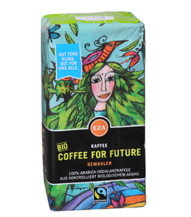 COFFEE FOR FUTURE Vak 500g kbA KLIMAKAFFEE