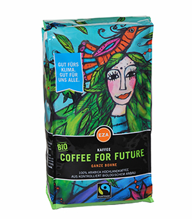 COFFEE FOR FUTURE Bohne1kg kbA KLIMAKAFFEE